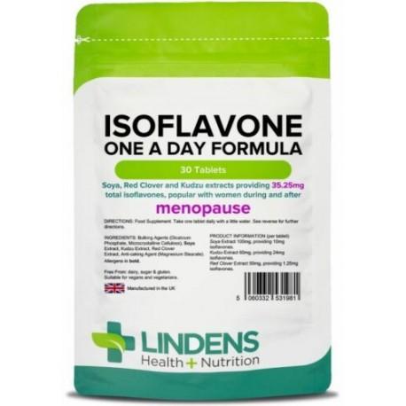 Isoflavones (Soya) Formula with kudzu & red clover menopause(30 tablets) Lindens
