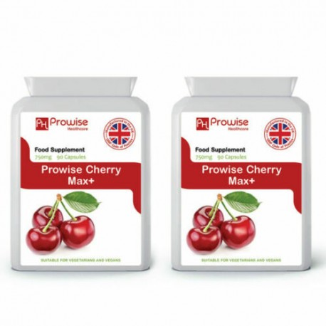 Cherry Max+ 750mg 90 capsules Pack of 2